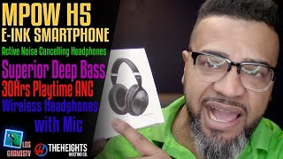 Download #Mpow H5 Noise Cancelling Headphones 🎧 : #LGTV Review Video
