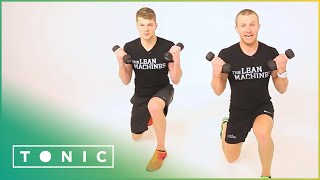 Download Box Circuits 10 Minute Workout | The Lean Machines | Tonic Video