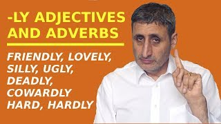Download A LOVELY grammar trick to know how to use -LY ADJECTIVES as adverbs Video