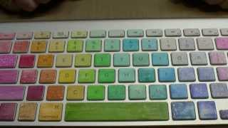 Download Colouring Apple Mac Wireless Keyboard using Copic Markers Video