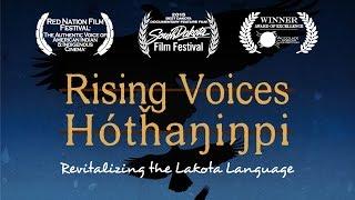 Download Rising Voices / Hótȟaŋiŋpi - Revitalizing the Lakota Language Video