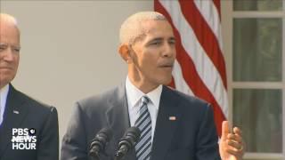Download Watch President Obama speak on Trump presidential victory Video