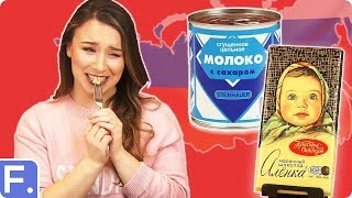 Download Irish People Try Russian Snacks Video