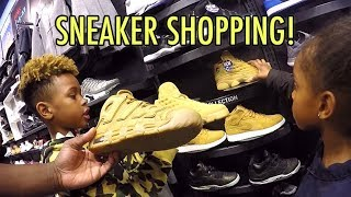 Download Tekkerz Kid goes Sneaker Shopping | Nike Jordan Sneaker Collection Video