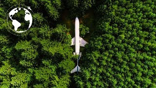 Download AIRPLANE CONVERTED to Functional HOME for Protection from ENVIRONMENTAL DISASTERS Video