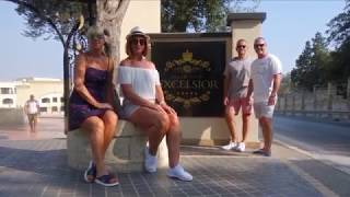 Download Valletta Malta and Grand Hotel Excelsior August 2018 Video