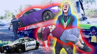 Download EVAN'S HIGHWAY CAR ACCIDENT! **in my car** Video