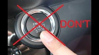 Download (Jangan Cuba) Apa jadi jika anda tekan START BUTTON semasa kereta berjalan? Video