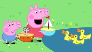 Download Peppa Pig Full Episodes | The Boat Pond | Cartoons for Children Video