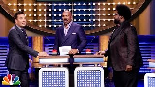 Download Tonight Show Family Feud with Steve Harvey and Alison Brie Video