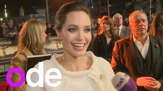 Download Angelina Jolie on war film rivalry with husband Brad Pitt Video