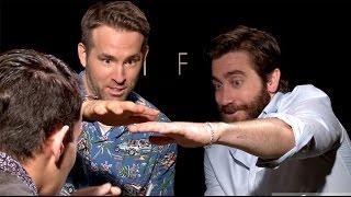 Download UNCENSORED MAGIC: Ryan Reynolds & Jake Gyllenhaal Freak Out! | Daniel Fernandez Video