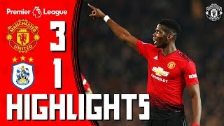 Download Highlights   Manchester United 3-1 Huddersfield Town   Premier League Video