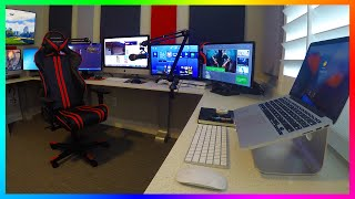 Download MRBOSSFTW NEW 2016 GAMING, STREAMING & OFFICE SETUP - ULTIMATE YOUTUBE GAMING OFFICE SETUP! Video