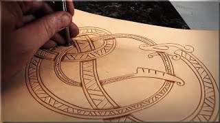 Download Leather Carving Tutorial - Viking Style Video
