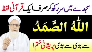 Download Allah o Samad ka Wazifa for Problems | Allah husamad parny ki Fazilat | Allah Hu Samad Meanings Video