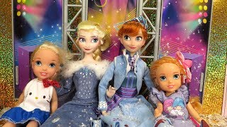 Download 2018 New Year's Party ! Elsa and Anna toddlers celebrate at Barbie's house ! Video