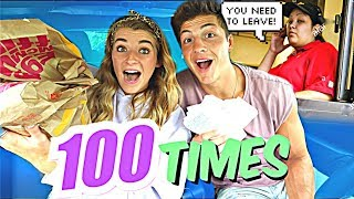 Download Driving Through The SAME McDonald's Drive Thru 100 Times *We Got Kicked Out* Video