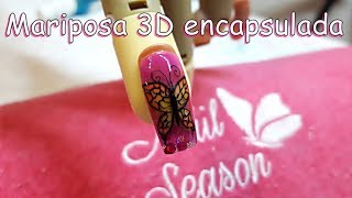 Download Mariposa 3D encapsulada en uñas esculturales Video
