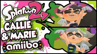 Download Callie and Marie amiibo Functionality in Splatoon 2! Video