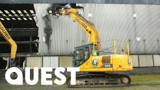 Download The Squibb Demolition Boys Start On An Old Anglesey Smelting Plant | Part 1 of 4 | Scrap Kings Video
