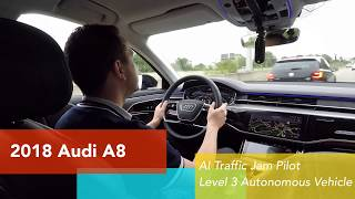 Download 2019 Audi A8 Level 3 self-driving real world test Video
