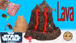 Download Star Wars Science Experiment Mustafar Lava Flowing Erupting Volcano Lab Toy Cookieswirlc Video Video