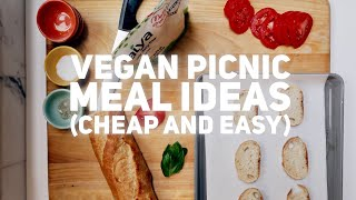 Download VEGAN PICNIC MEAL INSPO (buffalo cauliflower, black bean salad, crostini, fruit) Video