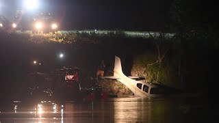 Download KFD on site where small plane slid off runway at Island Home Video