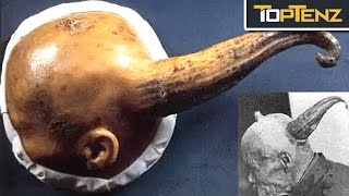 Download Top 10 BIZARRE Archaeological DISCOVERIES Video