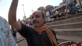 Download Avoiding Religious Scammers And Touts In Varanasi 🕉 Video