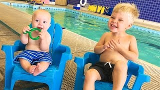 Download BACK AT SWIM CLASS! Video