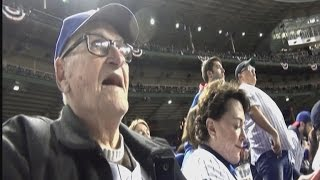 Download 97-Year-Old Chicago Fan Sees Cubs In World Series For First Time Since 1945 Video