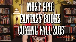 Download Most Epic Fantasy Books Fall 2015 #booktubesff Video