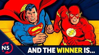 Download History of Every SUPERMAN vs FLASH Race! Who is Faster? || NerdSync Video