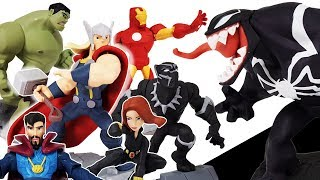 Download Marvel Avengers Disney Infinity 2.0 & Toybox, Go~! Hulk, Iron Man, Spider Man, Captain America Video