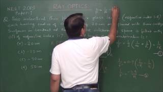 Download NEET/AIPMT Ray Optics 2 (past 10 year's problems with Revision) Video