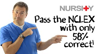 Download How to Pass the NCLEX with Only 58% Video