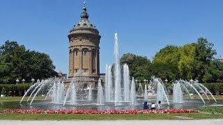 Download Mannheim, die Universitätsstadt - Sehenswürdigkeiten Video