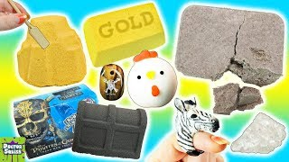 Download Squishy Dig It Bar! Digging For Gemstones, Pirate Treasure & Squishy Toys! Doctor Squish Video