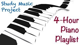 Download 4 HOUR LONG Piano Music for Studying, Concentrating, and Focusing Playlist Video