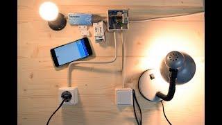Download SONOFF Basic / RF WiFi - Einbau in die bestehende Hauselektrik / Rauminstallation Video