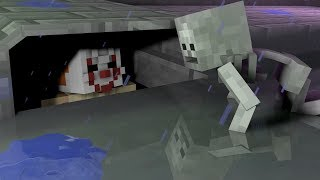 Download Monster School: IT SCARY SEWER CHALLENGE!! - Minecraft Animation Video