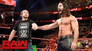 Download Seth Rollins and Dean Ambrose reunite: Raw, Aug. 14, 2017 Video