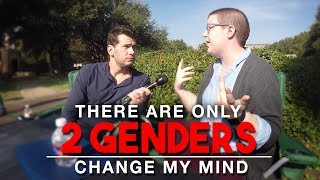 Download There Are Only 2 Genders | Change My Mind Video