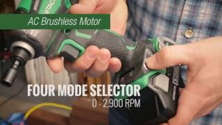Download Hitachi 18V 1/4 in. Hex Triple Hammer Impact Driver Kit - WH18DBDL2 Video