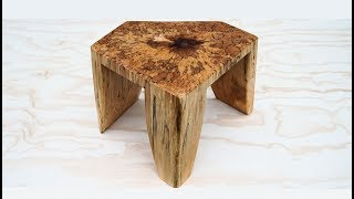 Download This May Be The Coolest Wooden Foot Stool Ever Video