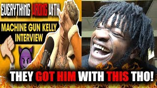 Download They Got Him! | Everything Wrong With Machine Gun Kelly's Breakfast Club Interview (REACTION!) Video