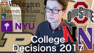 Download 9 SALTY College Decision Reactions 2017 (Northwestern, WashU, NYU, Purdue, OSU, Case, etc) Video