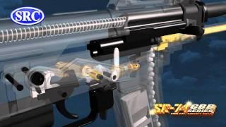 Download SRC AKS-74U gas blow back GBB working simulation Video